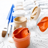 Earth Space - Paint By Numbers Kit For Adults - Easy Paint By Numbers - DIY Land
