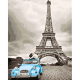 Paris Lovers - Paint By Numbers Kit For Adults - Easy Paint By Numbers - DIY Love