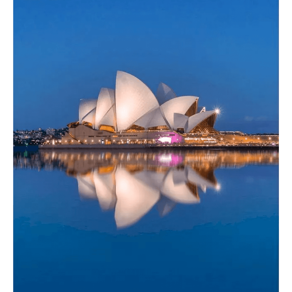 Opera House - Paint By Numbers Kit For Adults - Easy Paint By Number Kits for adults- DIY City