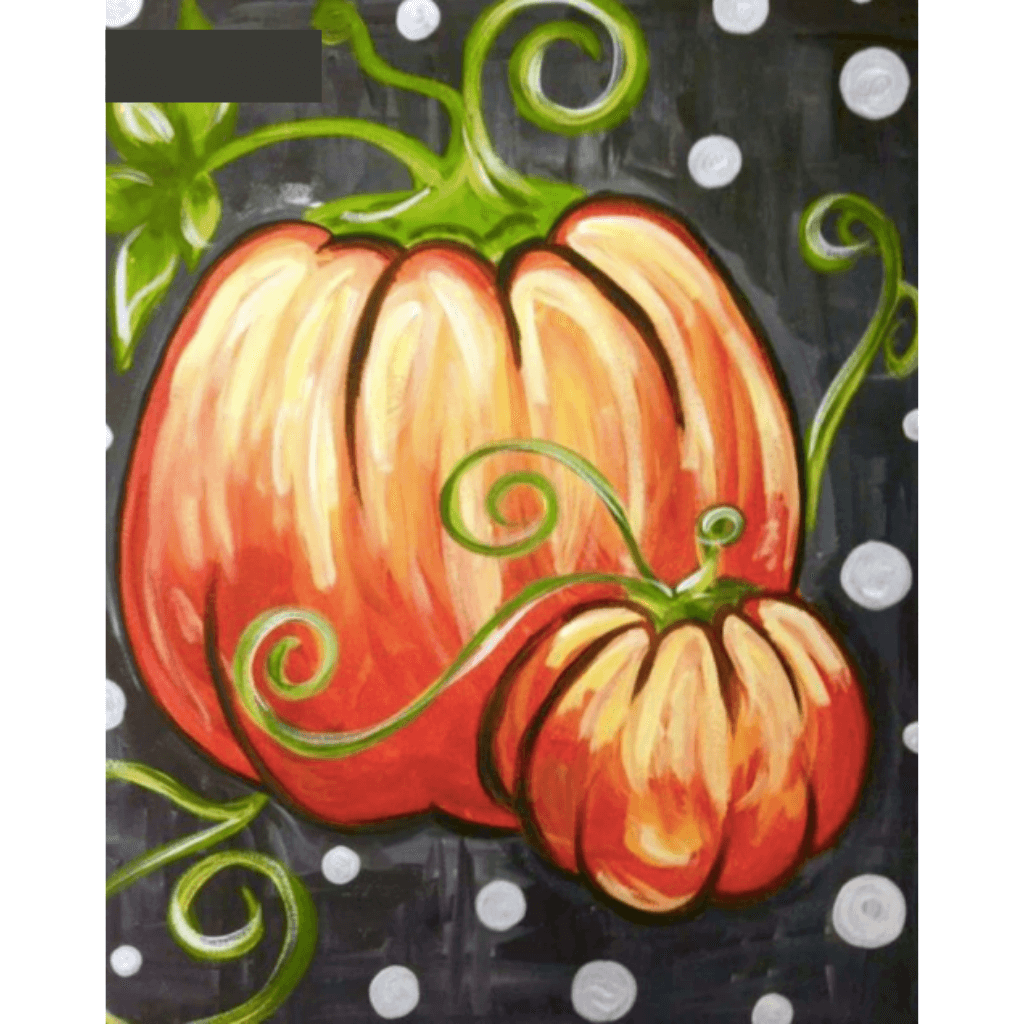 Halloween Pumpkins - Paint By Numbers Kit For Adults - Easy Paint By Number Kits for adults- DIY Objects