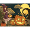 Girl With Pumpkin Lantern - Paint By Numbers Kit For Adults - Easy Paint By Number Kits for adults- DIY Objects