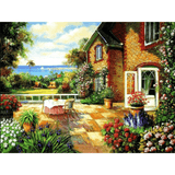 Sunset Landscape - Paint By Numbers Kit For Adults - Easy Paint By Numbers - DIY Miss