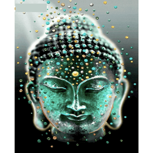Buddhism - Paint By Numbers Kit For Adults - Easy Paint By Number Kits for adults- DIY Objects