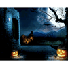 Halloween Castle Dog - Paint By Numbers Kit For Adults - Easy Paint By Number Kits for adults- DIY Land