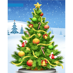 Christmas Tree - Paint By Numbers Kit For Adults