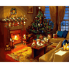 Christmas Decor - Paint By Numbers Kit For Adults - Easy Paint By Number Kits for adults- DIY Miss