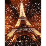 Eiffel - Paint By Numbers Kit For Adults - Easy Paint By Numbers -