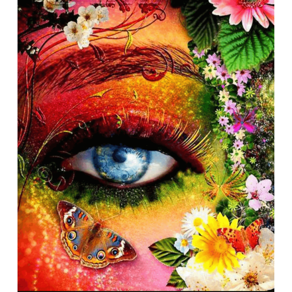 Eyes - Paint By Numbers Kit For Adults - Easy Paint By Numbers - DIY Miss