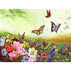 Flowers n Butterfly - Paint By Numbers Kit For Adults - Easy Paint By Number Kits for adults- DIY Flowers