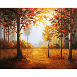 Forest Autumn - Paint By Numbers Kit For Adults - Easy Paint By Number Kits for adults- DIY Land