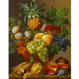 Fruits - Paint By Numbers Kit For Adults - Easy Paint By Number Kits for adults- DIY Objects