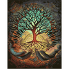 Hands Tree - Paint By Numbers Kit For Adults - Easy Paint By Number Kits for adults- DIY Land