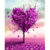 Heart Tree - Paint By Numbers Kit For Adults - Easy Paint By Number Kits for adults- DIY Love