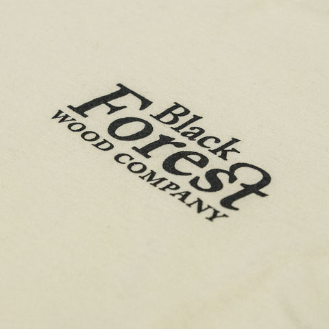Black Forest Creme Coloured 100 % Cotton T