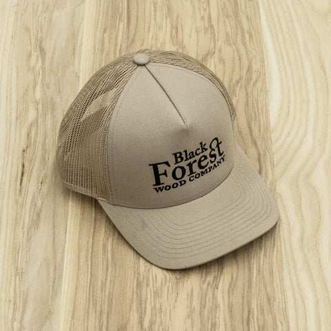 Black Forest Mesh Cap (Khaki only)