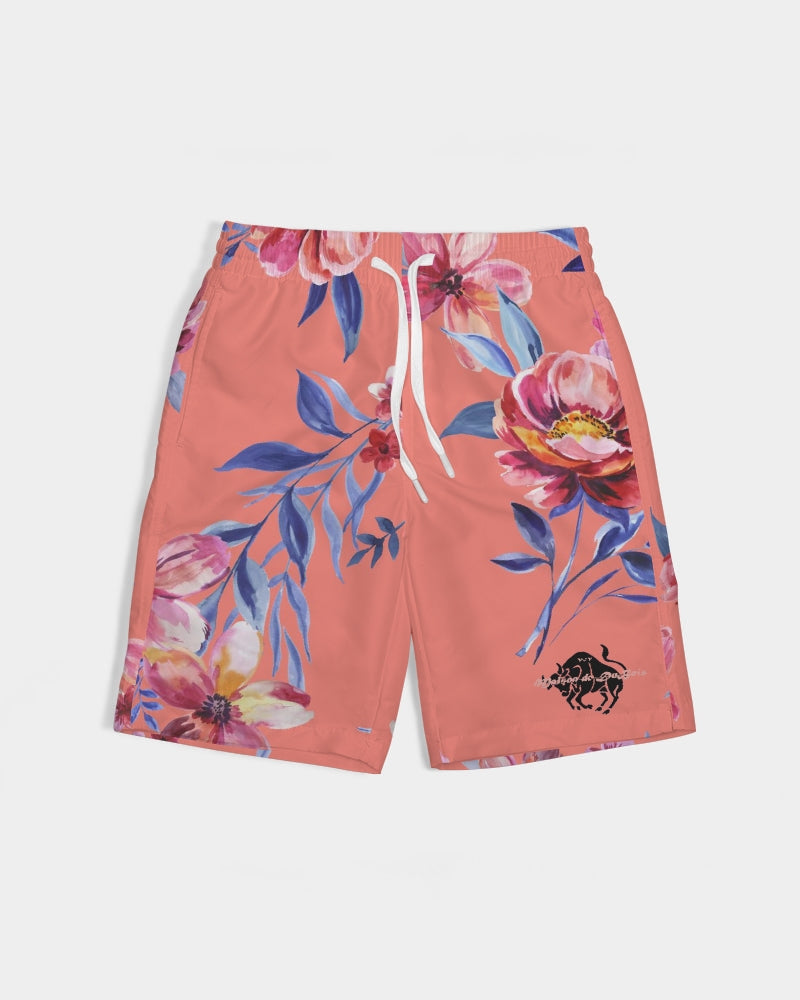 V:IV Floral Boys Swim Trunks