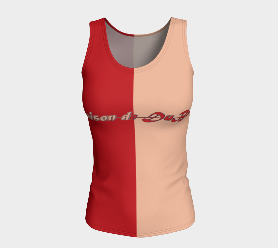 Love Joy Fitted Tank (long)