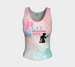 Play with Something Safe Fitted Tank