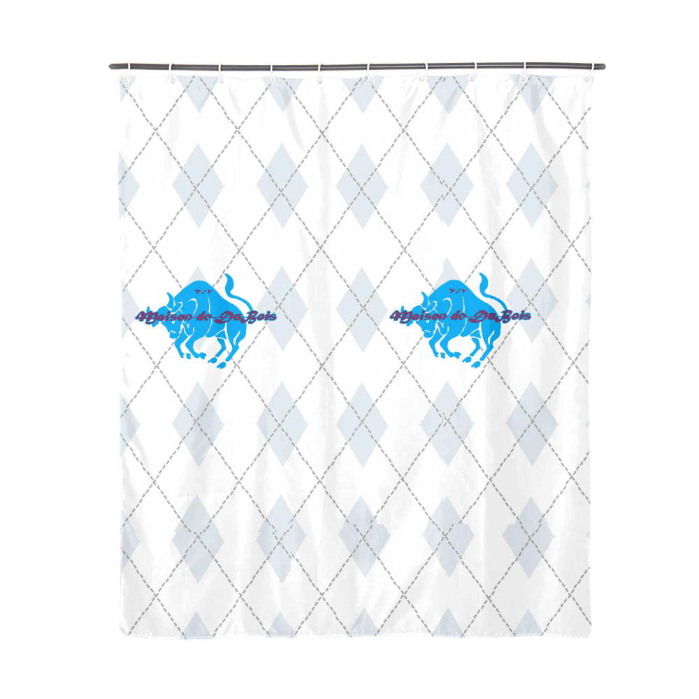 "Diamond Bull Shower Curtain Shower Curtain 72""x72"""