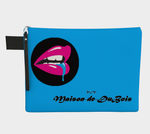 V:IV Maison de DuBois Blue Drool Over Carry All