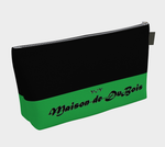 V:IV Maison de DuBois Green & Black Make-up Bag