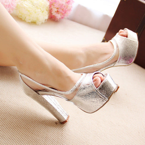 Fashion Women Summer High Heels