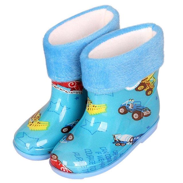 cartoon children's rain boots