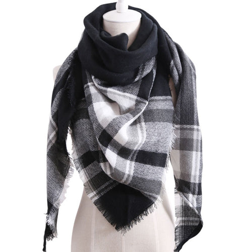 Large Winter Soft Scarf