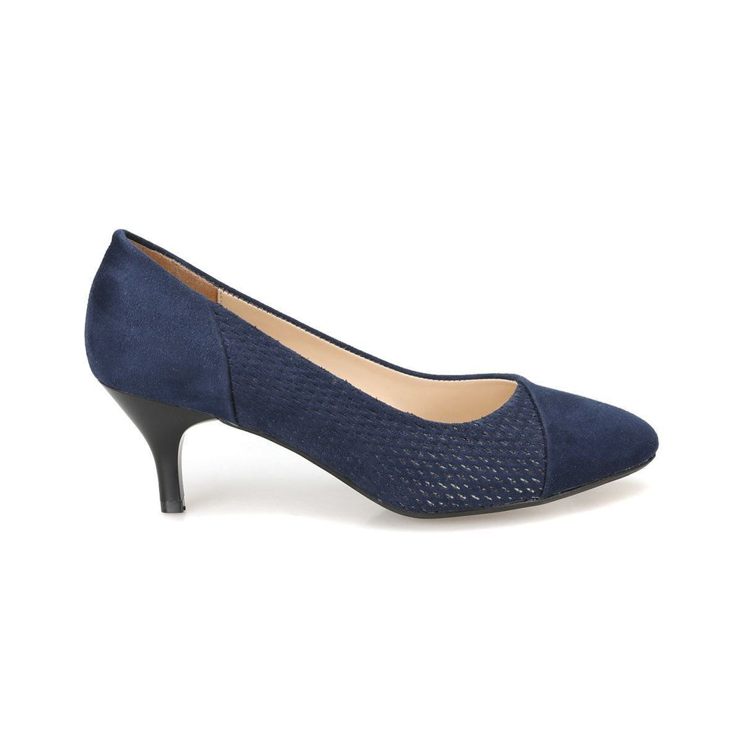 Navy Blue Women's High Heels