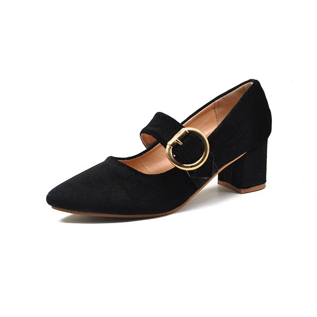 Spring Women Fashion Heel Pumps