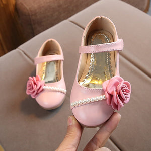 Girls Floral Shoes