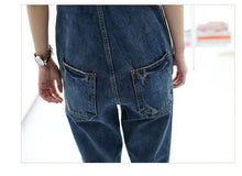Load image into Gallery viewer, Womens Demin Long Pants