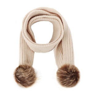 Winter Warm Knitted Scarf