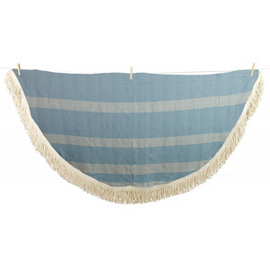 Diamond Weave Roundie Turkish Towel Peshtemal