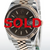 41mm Pre-Owned Rolex Datejust Two-Tone 18R & SS Chocolate Dial Jubilee Band