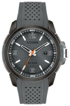 Men's Citizen Eco-Drive AR 45mm Gray-Tone SS Dial Gray Polyurethane Strap