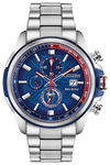 Citizen Men's Marvel Spider-Man Eco-Drive Watch Silver Blue Red Stainless Steel