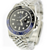"40mm Pre-Owned Rolex GMT Master II ""BATWOMAN"" Black Dial & Blue/Black Bezel Jubilee Band"