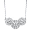 14K diamond Necklace 1 ctw