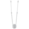 14K diamond Necklace 1/2 ctw