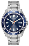 Men's Citizen Eco-Drive Promaster Diver 45mm Stainless Steel Azure Blue Dial