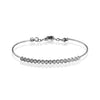 ZEGHANI BRACELET, 14W 17=.59TW RBC BANGLE 4.2GR