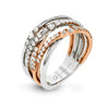 ZEGHANI FASHION RING, 14WR 53=.61TW RBC 6.1GR