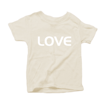 Load image into Gallery viewer, Organic Baby Tee Natural