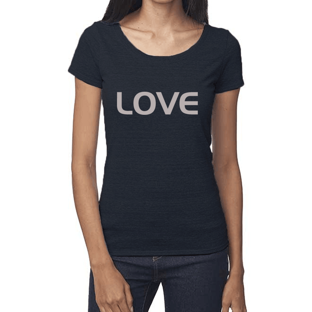 Ladies LOVE Eco Scoopneck Tee