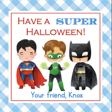 Load image into Gallery viewer, Super Hero Halloween Treats