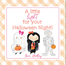 Load image into Gallery viewer, Light Up Necklace Halloween Treats