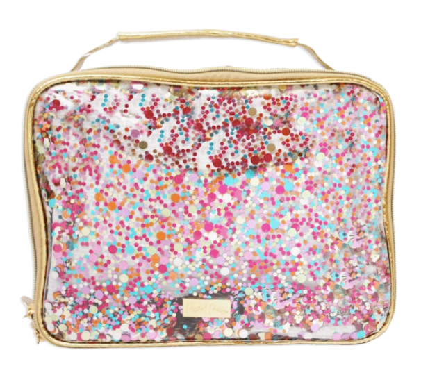 Packed Party- Personalized Confetti Lunch Box