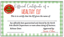 Load image into Gallery viewer, Elf Quarantine Printables