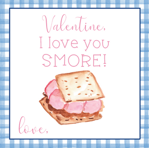 Smores Valentine Printable Set